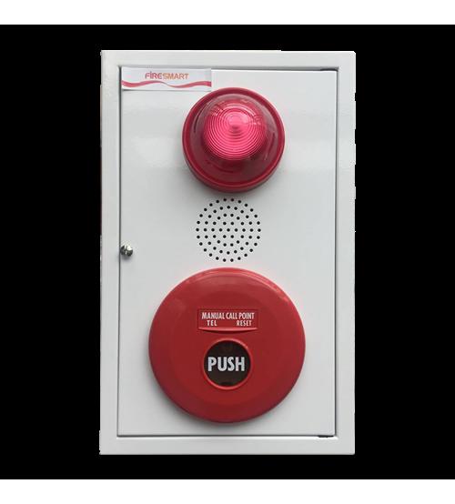 Bộ tổ hợp chuông-đèn-nút ấn FBML-001